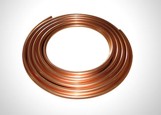 "7/8"" Copper Refrigeration Tubing Soft Annealed Pancake Coil Copper Pipe 99.9% Copper"